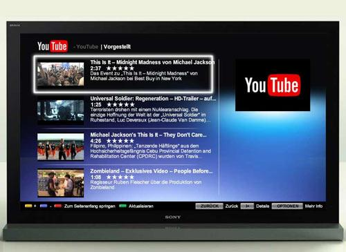 internet youtube lcd
