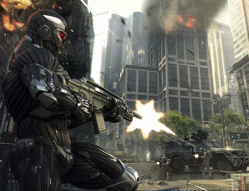 Crysis 2 Screenshot Soldaten Kampf