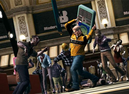 Dead Rising 2 Screenshot cell phone attack