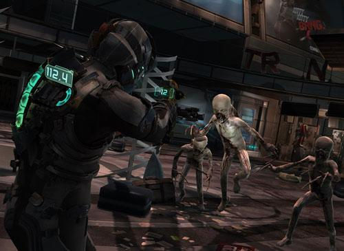 Dead Space 2 Screenshot Kampf gegen Alien