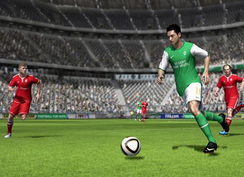 FIFA 11 Sreenshot Özil