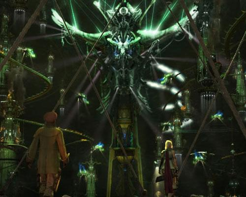 Final Fantasy XIII Screenshot Große Statue
