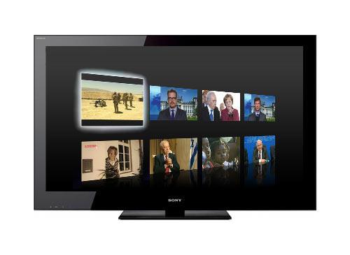 internet tv sony