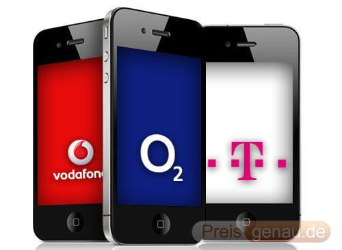 apple iphone 4 telekom o2 vodafone