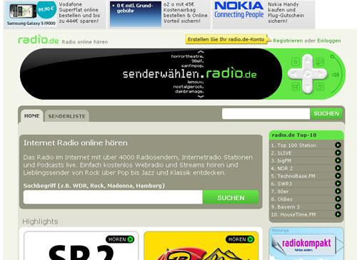 radio stream musik