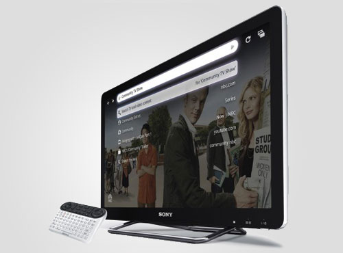 Sony Fernsehr Google TV