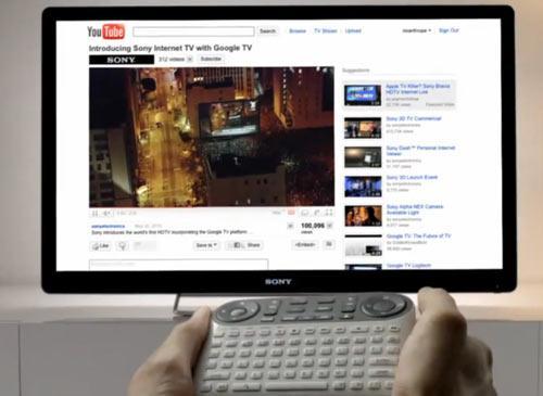 sony internet fernseher und blu ray player mit google tv. Black Bedroom Furniture Sets. Home Design Ideas