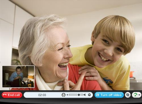 videochat skype
