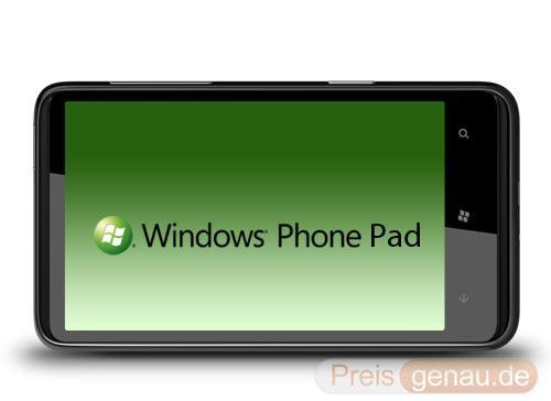 windows phone 7 pad