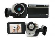 Günstiger HD-Camcorder mit großem Zoom