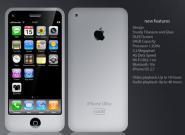 Weißes iPhone 4 Handy im