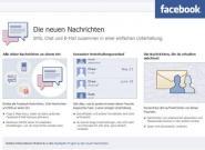 Facebook News: EMail mit @facebook.com,