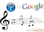 Online iTunes vs. Google Musik: