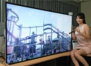 Große 3D TVs: 70-Zoll 3D