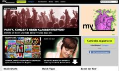 Myspace wird zur Last.fm Alternative