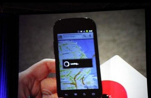 Google Chef zeigt neues Google