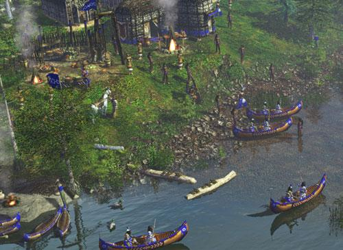 AoE 3 Indianer Screenshot