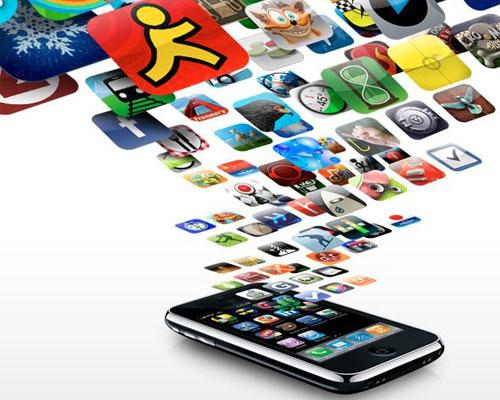Apps Regnen ins iPhone