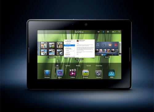 BlackBerry Playbook Frontansicht