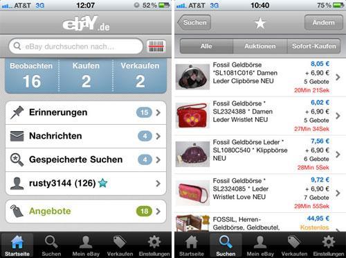 Apple eBay App