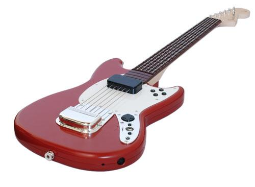 Gitarre MC Rock Band 3 Fender Mustang Guitar Controller red