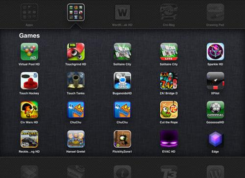Apple iOS 4.2 Screenshot