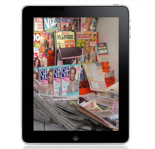 iPad Zeitung