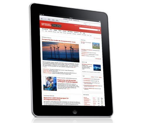 Apple iPad Zeitung