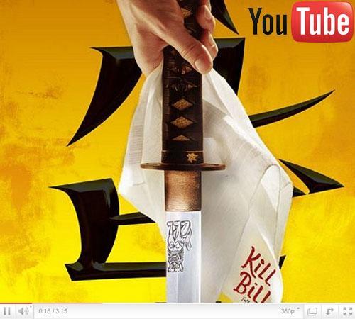 Kill Bill auf Youtube