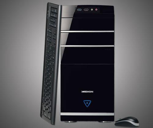 g nstige multimedia pcs medion akoya p4375d mit core i3 und usb 3 0 unter 600 euro. Black Bedroom Furniture Sets. Home Design Ideas