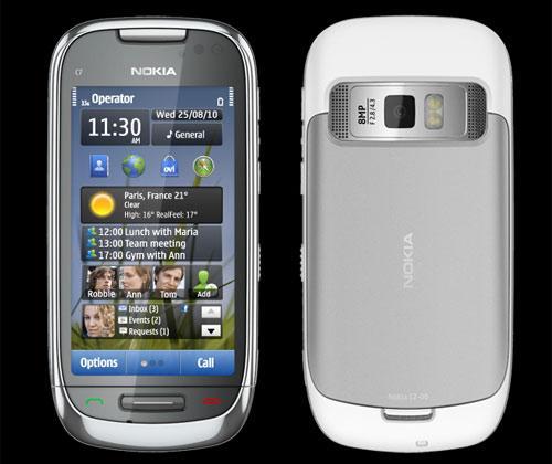 Review nokia c7 touch und fotohandy mit symbian 3 im test