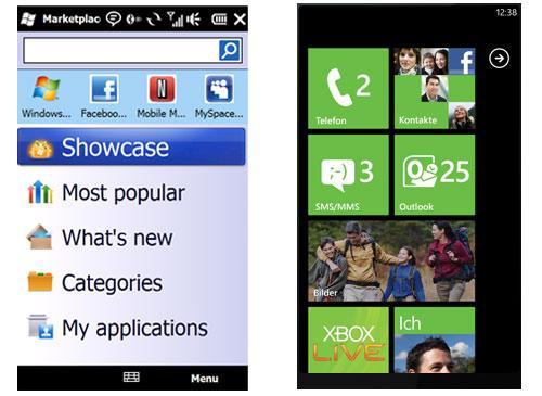 Windows Phone vergleich