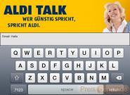 iPhone 4: ALDI Handy Internet