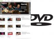 Online-Streaming von Filmen trocknet DVD-Markt