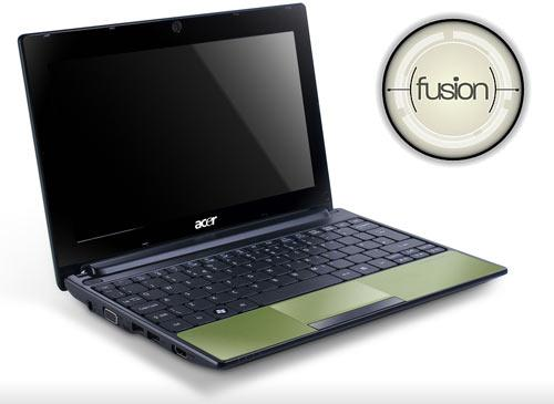 Aspire One D255 amd fusuion