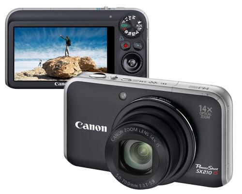 Canon SX 210 IS Ansichten