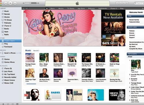 Apple iTunes Screenshot