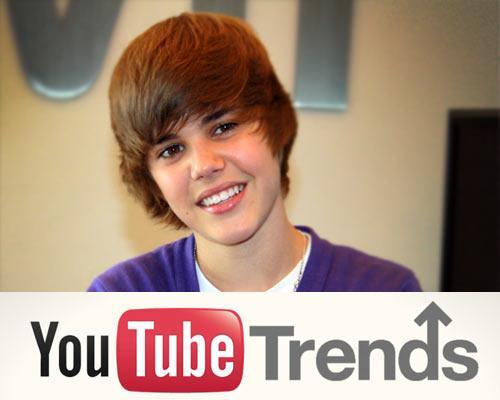 justinbieber youtube top 10
