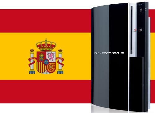 Playstation 3 Spanien