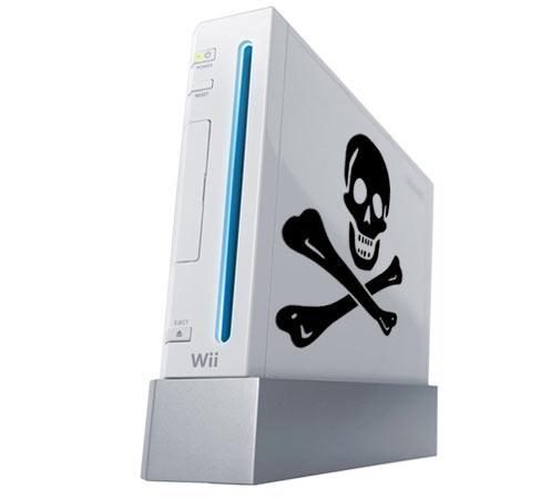 Wii Mit Totenkopf