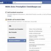 Facebook.de: 5 Privatsphäre-Einstellungen, die du