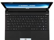 Asus U36: Schnelles Core-i5 Notebook