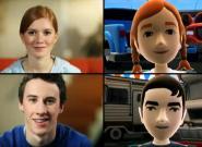 3D Chats mit Gesichtserkennung für