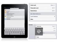 iOS 4.3: iPad bekommt Display-Rotationssperre