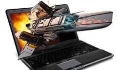 3D-Laptop von Toshiba mit Eye-Tracking