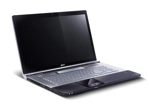 Acer aspire 8950g gamer notebook mit neuem intel sandy bridge