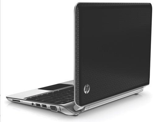 HP Netbook DM1 Rückseite