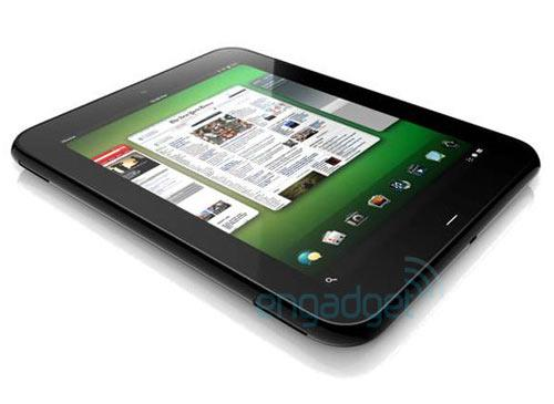 HP Palm WebOS Tablet Vorderseite