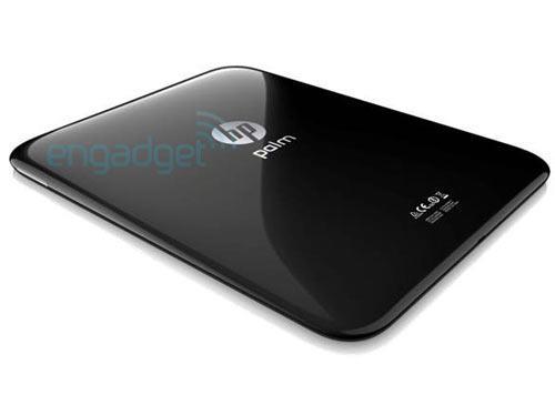 Hp WebOS Tablet Palm Rückseite
