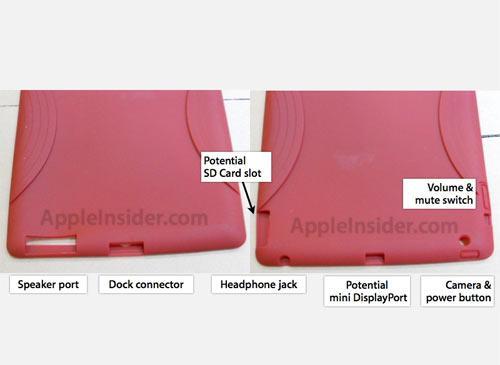 iPad Schutzhülle Rot